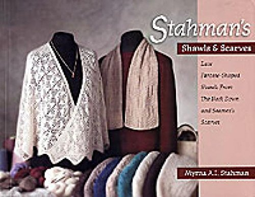 Galaxy Laces - Stahman's Shawls and Scarves: Lace Faroese-Shaped