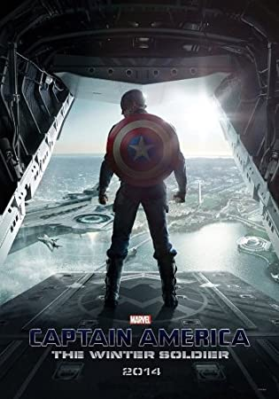 amazon captain america the winter soldier movie poster 2 sided