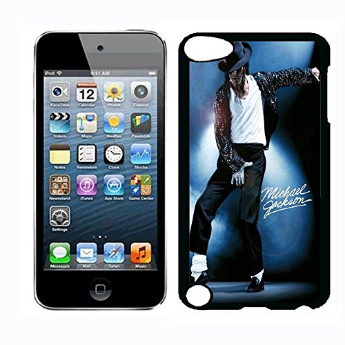 Michael Superstar Jackson Case for iPod Touch 5th iPod Touch 6th,PC Material Hard Case Never Fade (Case Michael Jackson Ipod)