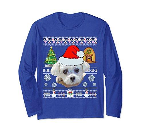 Maltese Dog Mom Shirt Christmas Love Gifts Sweater