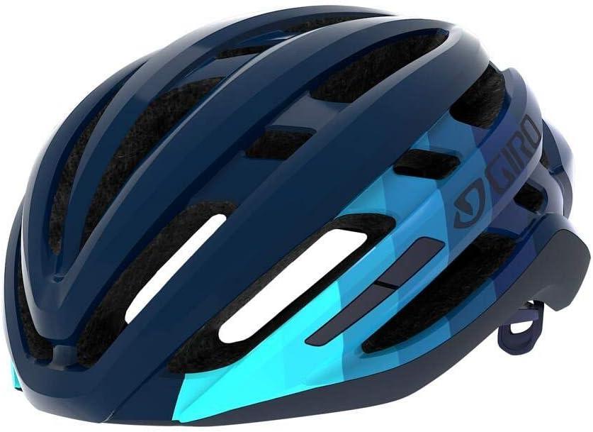 Iceberger opaco//mednight bar 59-63 cm Giro Agilis L Casco da bicicletta Road Unisex-Adulti