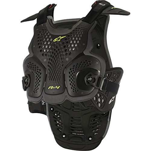 Alpinestars A-4 Chest Protector-Black/Antracite-XS/S by Alpinestars