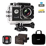 Best Action Camera,CrazyFire 4K Ultra HD Sport Action Camera,16MP 170 Degree Angle Underwater Wifi Action Camera with 2.0