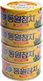 Dongwon Tuna Can, 150gram (4 Cans)