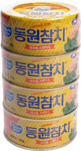 (Dongwon Tuna Can, 150gram (4 Cans))