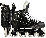 Tour Hockey Code 5 Junior Inline Hockey Skates Black Size 4