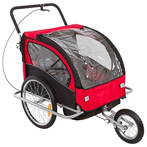 Apex BT-502 Double Kids Bike Trailer & Jogger