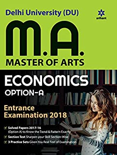 Buy JNU M A  Economics Chapterwise Previous Year Solved