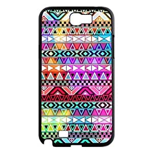 ALICASE Diy Design Back Case Aztec Tribal for Samsung Galaxy Note 2 N7100 [Pattern-1]