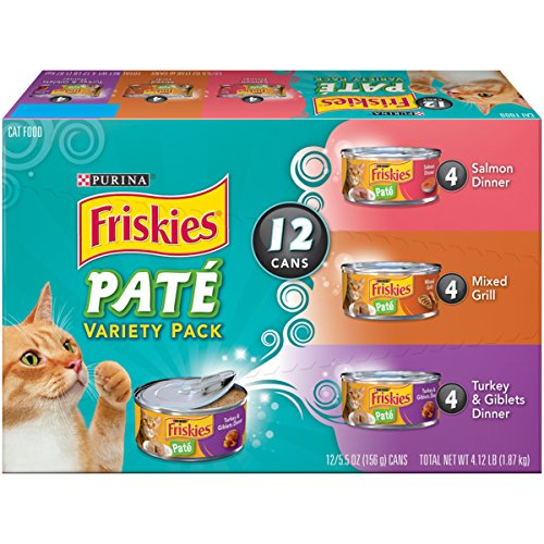 Pak Natural - Purina Friskies 18378 Classic Pate Variety Pack Adult Wet Cat Food - (2 Packs of 12) 5.5 Cans
