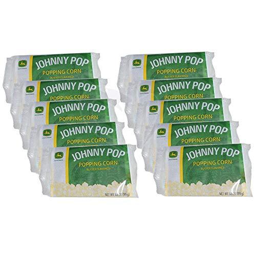 - John Deere Johnny Pop Quality Popcorn - 10 Pack