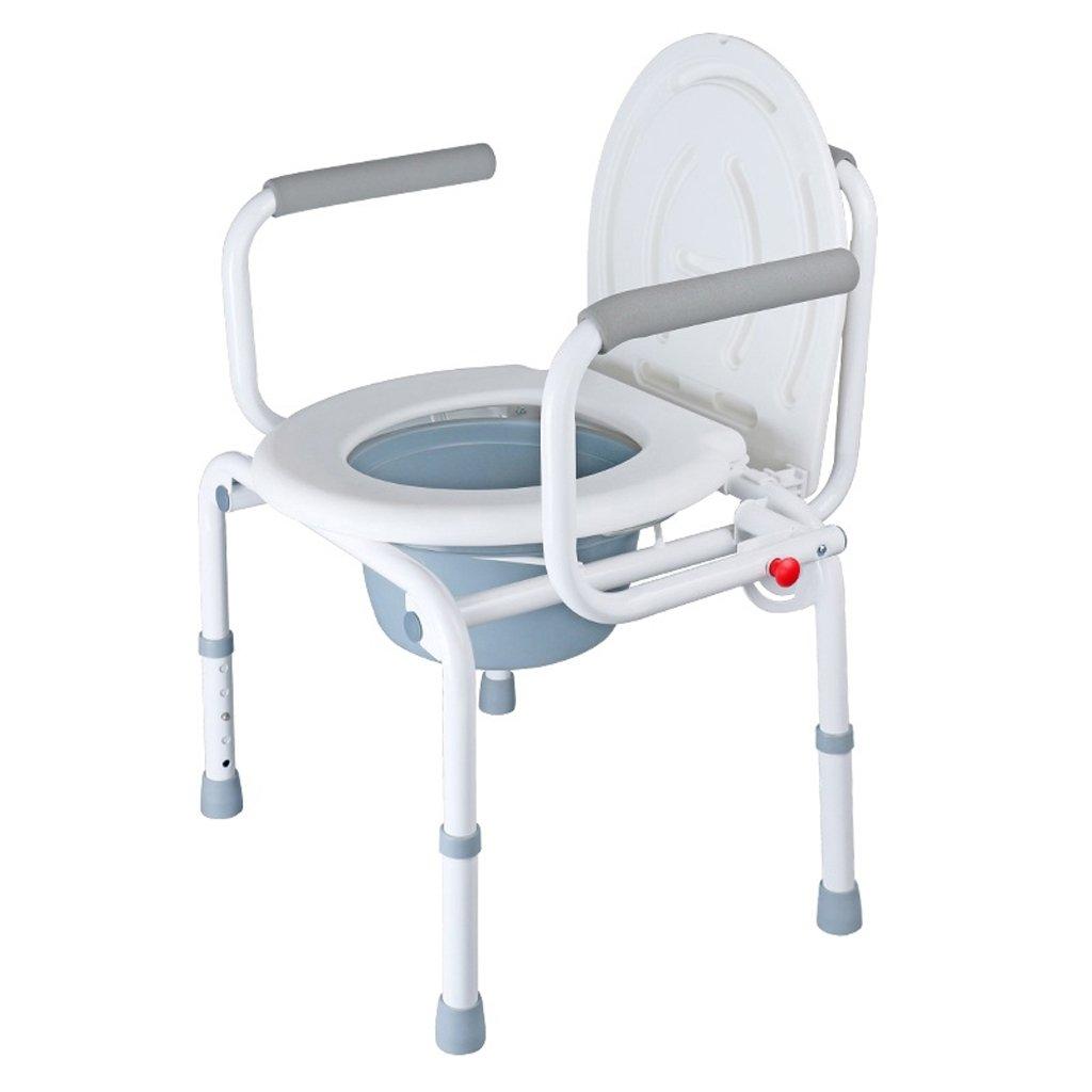 素敵な Shariv-シャワーチェア トイレの椅子高齢者浴室の椅子防水PP材料の高さadjustable52**(71-80)cm B07DMC89L3 46*(71-80)cm* B07DMC89L3, 格安即決:de229a3d --- pedroparada.com.br