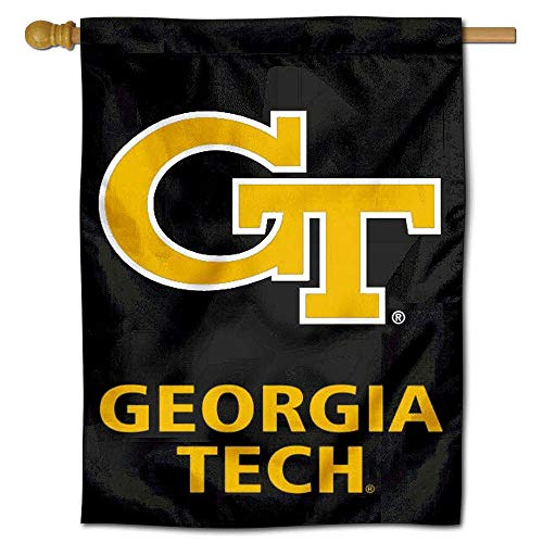 College Flags and Banners Co. Georgia Tech Double Sided House ()
