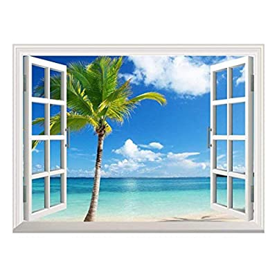 Removable Wall Sticker Wall Mural ( Tropical View)...
