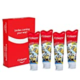 Colgate Kids Minions Fluoride Toothpaste, 4.6 Ounce, 4 Count