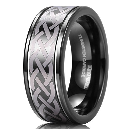 King Will Infinity Tungsten Polished
