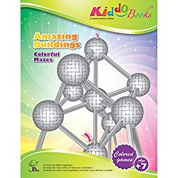 American Educational Products A-1005  Amazing Buildings Booklet for kiddo