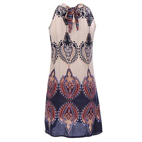 VLUNT - Vestido - para mujer azul oscuro
