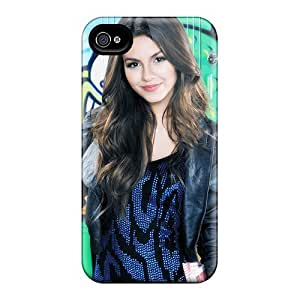 New E-Lineage Super Strong Victoria Justice 5 Tpu Case Cover For Iphone 5/5s