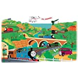 RoomMates RMK1081GM Thomas and Friends Peel and Stick Giant Wall Decal