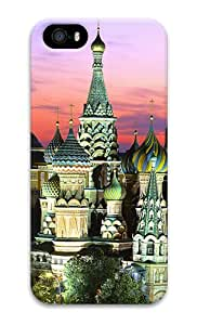 Kremlin Building PC Hard Case Cover for iPhone 5S and iPhone 5