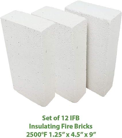 "NI... Thermal Ceramics Ceramic Fiber Insulating Fire Brick 4-1//2/"" X 9/"" X 2-1//2/"""