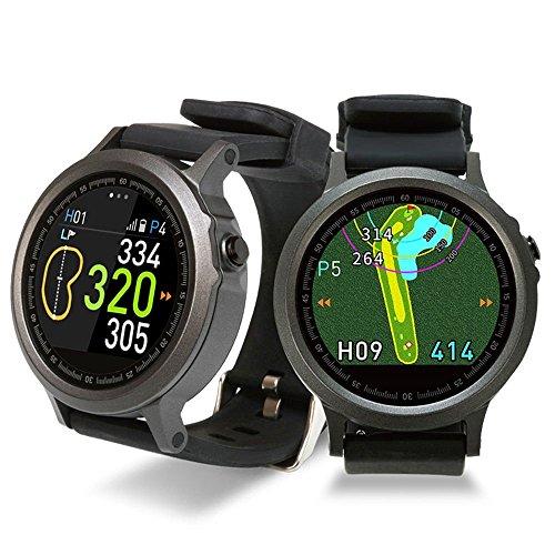 GolfBuddy WTX Smart Golf GPS Watch Black with Bonus Golf Buddy Microfiber Towel by GolfBuddy (Image #4)