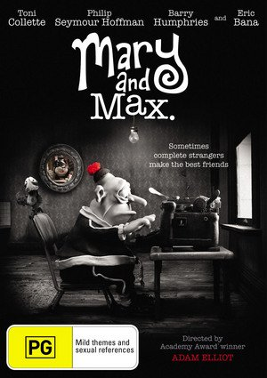 Amazon Com Mary And Max Regions 2 4 Toni Collette Eric Bana Barry Humphries Philip Seymour Hoffman Bethany Whitmore Renee Geyer Ian Molly Meldrum John Flaus Julie Forsyth Michael Ienna Adam Elliot