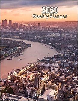 Amazon com: 2020 Weekly Planner: London: Scenic Photo