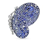 PANDORA-Dazzling-Blue-Butterfly-925-Sterling-Silver-Brooch--697996NCB
