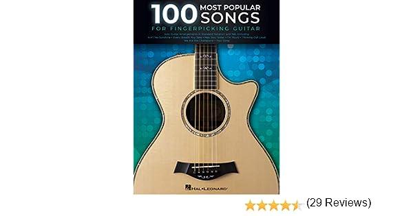 100 Most Popular Songs for Fingerpicking Guitar: Solo Guitar ...