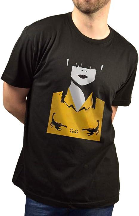 SUPERMOLON Camiseta Negra Unisex Zulema: Amazon.es: Ropa y accesorios