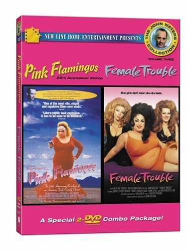 John Waters Collection #3: Pink Flamingos/ Female Trouble by New Line Home Video