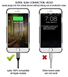 iPhone Charger Cable - Lightning Cable - 4Pack 3FT 6FT 6FT 10FT - iPhone power cord pack for X 8 8 Plus 7 7 Plus 6 6S 6 Plus 5S SE iPad iPod (Color)