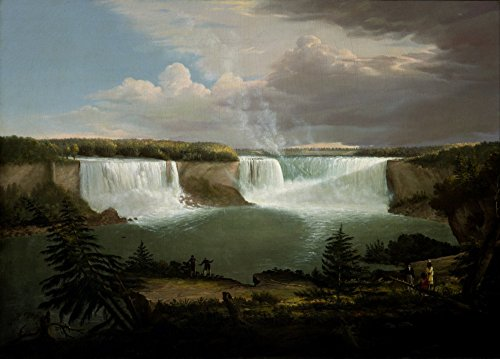 The Museum Outlet - Alvan Fisher - Niagra Falls - Canvas Print Online Buy (24 X 32 - Niagra Outlet