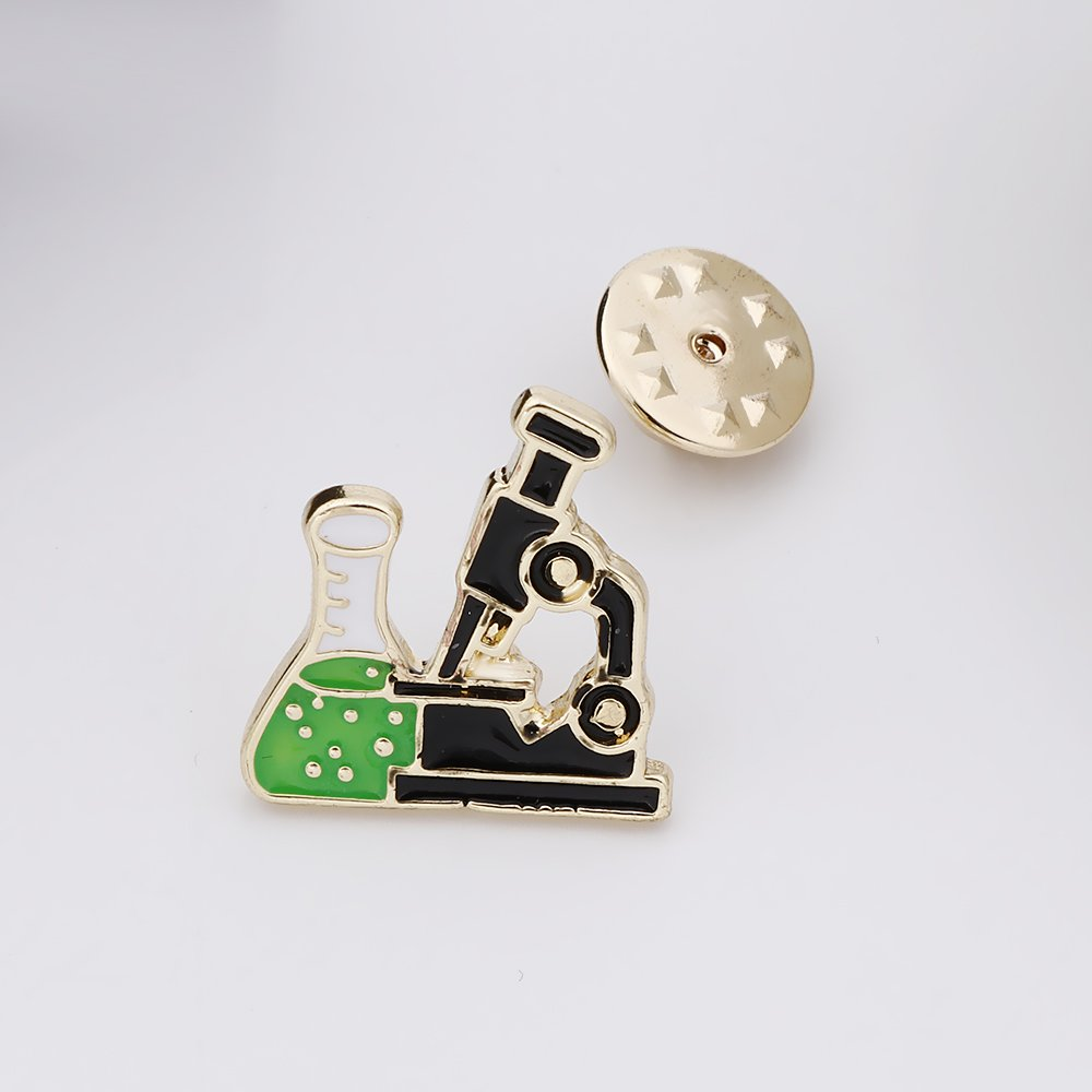 SENFAI Gold Color Microscope Pin and Brooch (20pck) by SENFAI (Image #4)