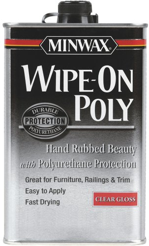 Minwax Gloss Wipe-On Poly,1 U.S.
