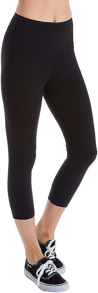 Lyss/é Womens Flattering Cotton Crop Legging Leggings