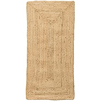 Amazon Com Bloomingville Small Natural Seagrass Rug Home