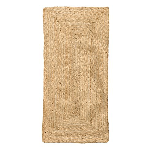 Bloomingville Small Natural Seagrass Rug (Natural Rugs Seagrass)