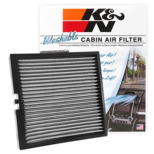 K&N Cabin Air Filter: Washable and Reusable: Designed For Select 2014-2019 Chevy/GMC/Cadillac Truck and SUV Models, VF2044
