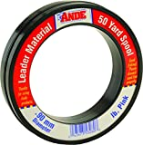 Ande FPW-50-30 Fluorocarbon Fishing Line, 50-Pound Spool, 30-Pound Test, Pink Finish Review