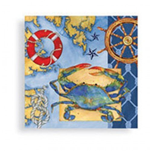 Nautical Paper Napkins - 8