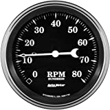 AutoMeter 1790 Old Tyme Black Electric Programmable Speedometer 3-3/8 in.