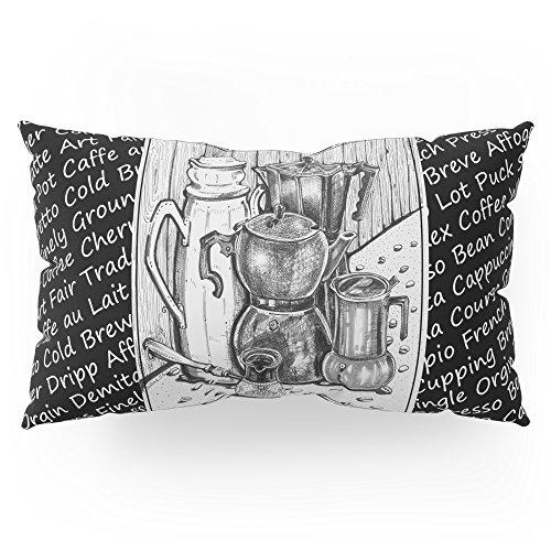 "Society6 Moka Mia - Inktober #3 Pillow Sham King (20"" x 36"") Set of 2"