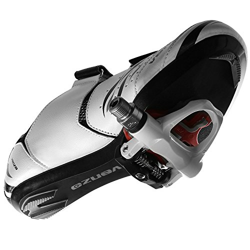 50cc7179084 Venzo Road Bike for Shimano SPD SL Look Cycling Bicycle Shoes & Sealed  Pedals