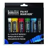 Liquitex 4690001 Acrylic Paint Marker 6-Color Wide Set