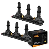 QYL Ignition coil Replacement for Cadillac Saturn Catera Vue CTS L300 CTS 3.0L 3.2L V6 UF-278 610-00170 90584336 C1415 9118114 UF278(Pack of 2)