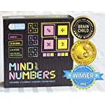 Kitki Mind Your Numbers Math Game Stem Puzzles for Kids, 8+ Years (Multicolour)