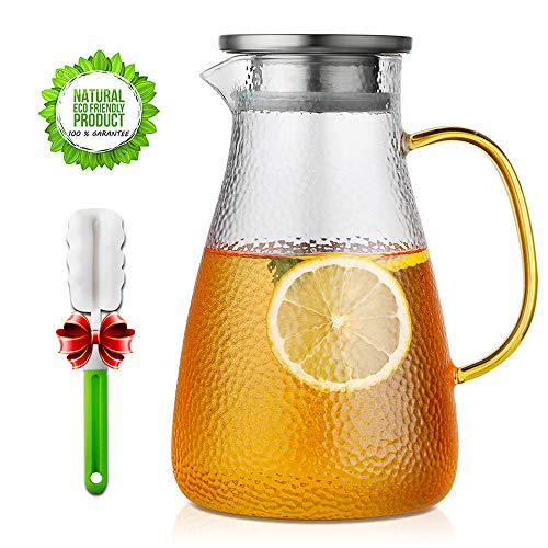 pitcher with spout infuser - 6
